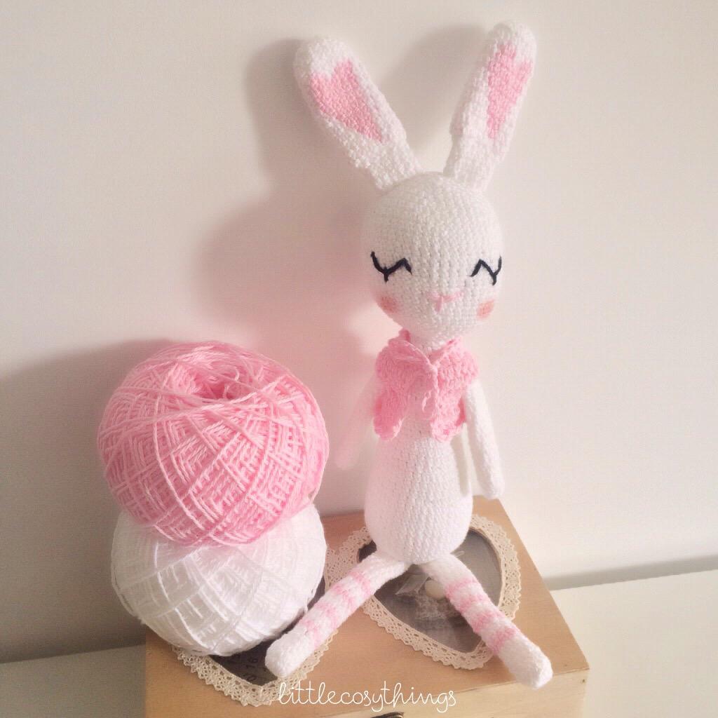 Amigurumi Sleeping Bunny : Amigurumi Crochet Sleepy Bunny pattern testing for ...