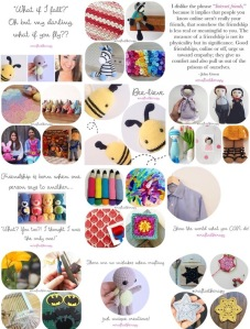 Craft as Therapy - Little Cosy Things week as moderator
