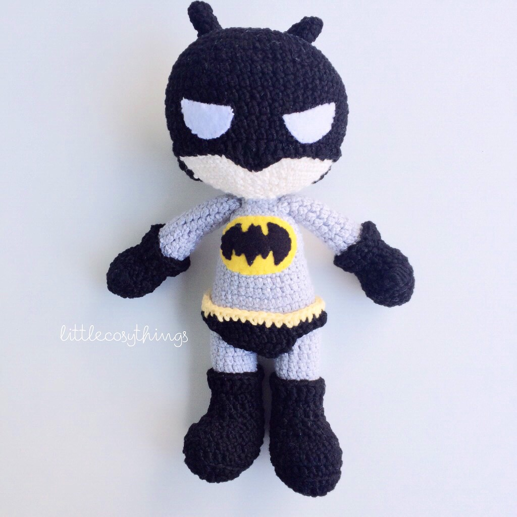 Amigurumi Batgirl : little cosy things Little Cosy Things