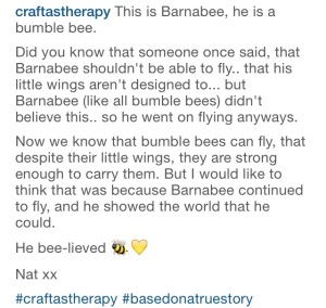 The Story of Barnabee the Bee by Little Cosy Things