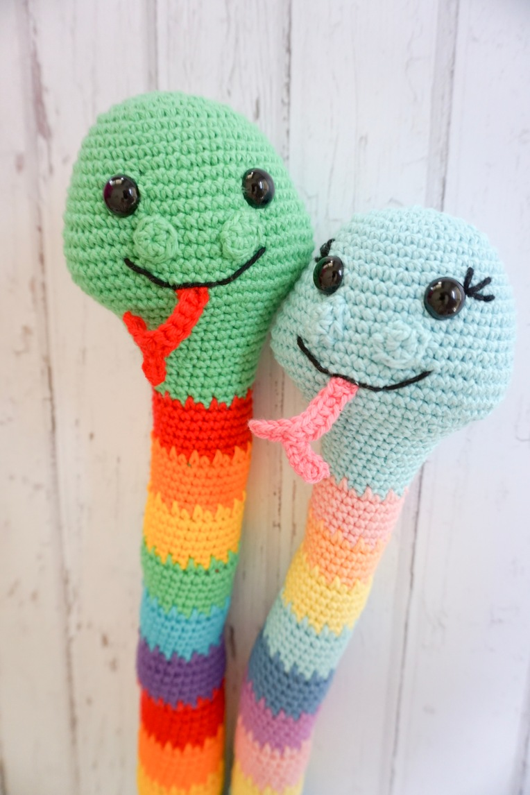 Snuffles & Sniffles the Snake