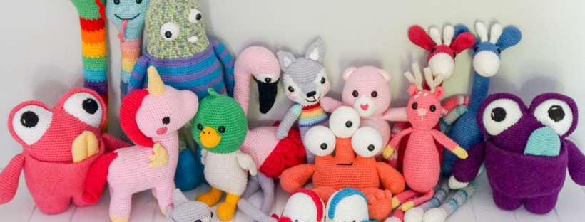amigurumi crochet toys collection by Little Cosy Things @littlecosythings