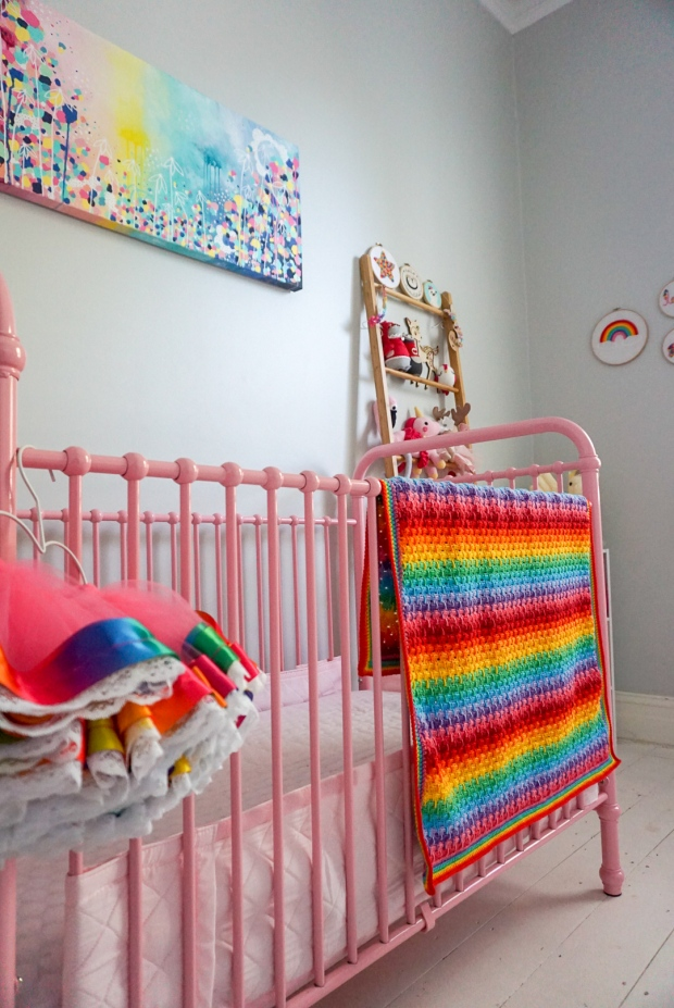 """""""Weeping Rainbows"""" Crochet Pattern by Little Cosy Things"""